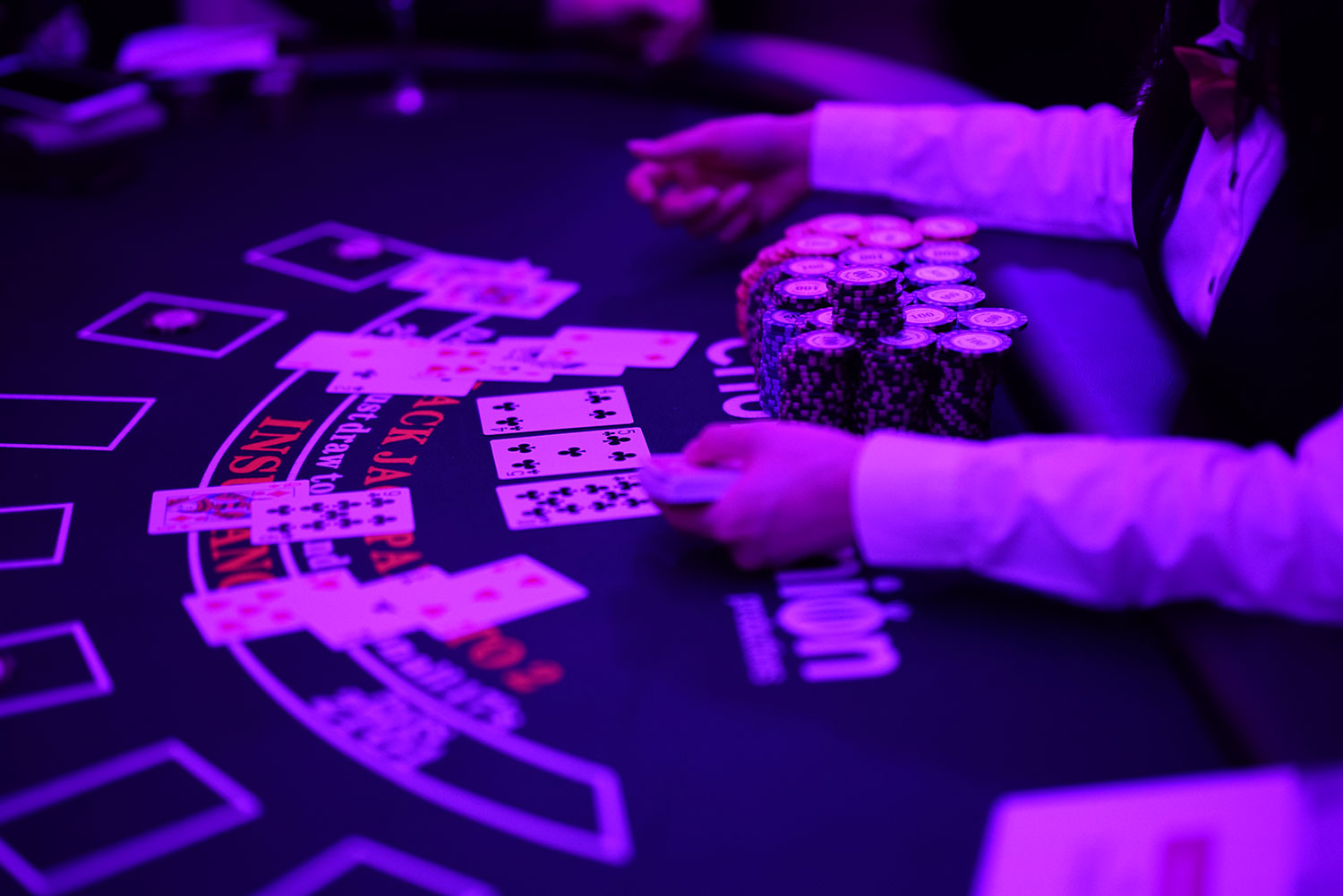 Casino game rental Hong Kong is our mission. Casino games are fun for event entertainment. We provide a wide variety of casino gaming tables, casino dealers and casino chips.