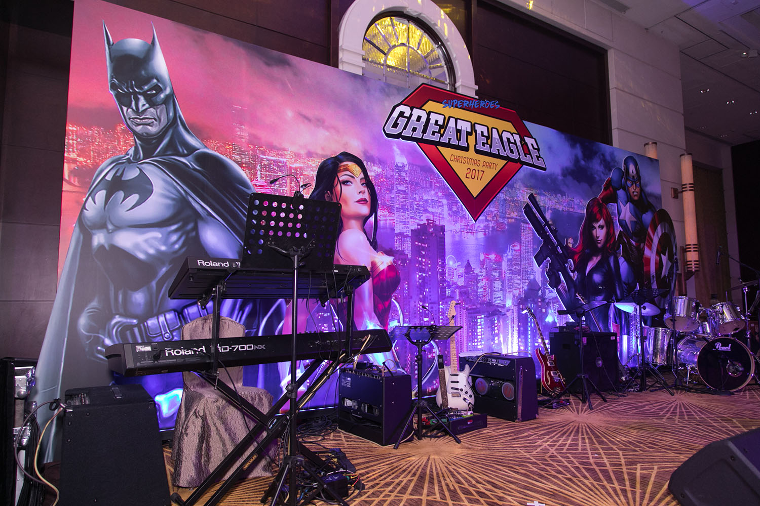 Superhero Annual Dinner Hong Kong
