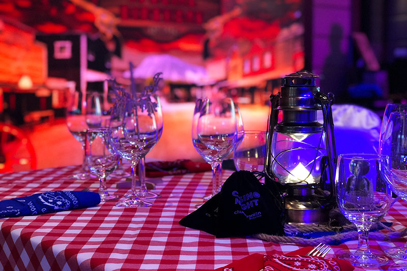 Wild West themed party by event management company Chunky Onion Productions